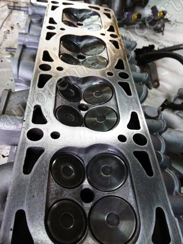 Головка блоков цилиндров ремонт, притирка клапанов 405, 406 в Москве